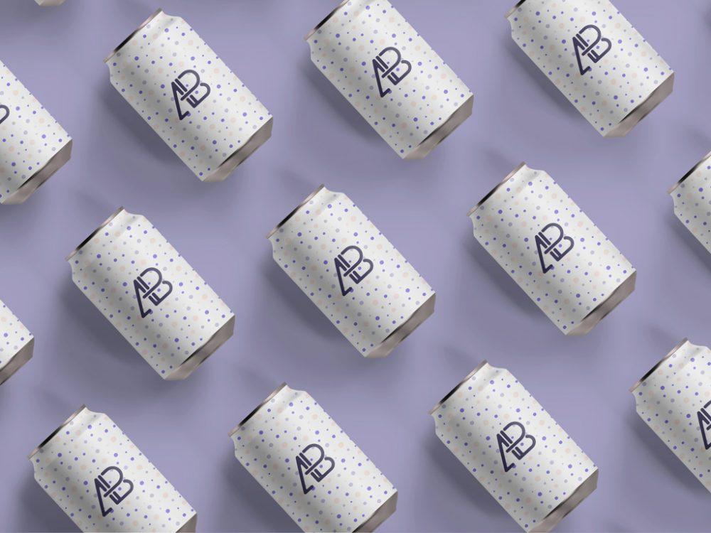 Soda Can Branding Mockup | MockupWorld