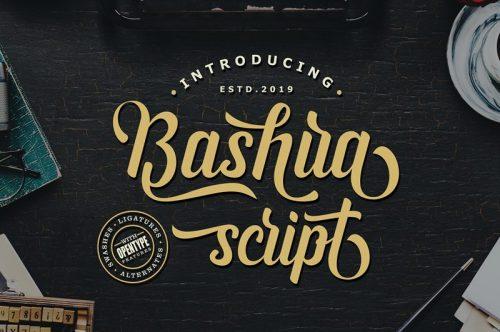 Asset | Bashira Font Typeface