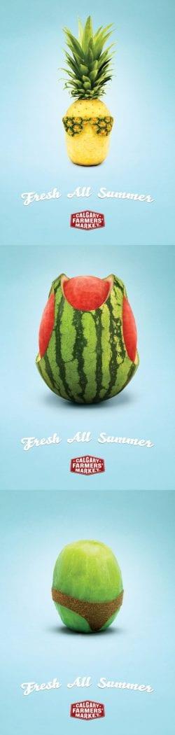Fresh All Summer   Calgary Farmers' Market   Advertisement