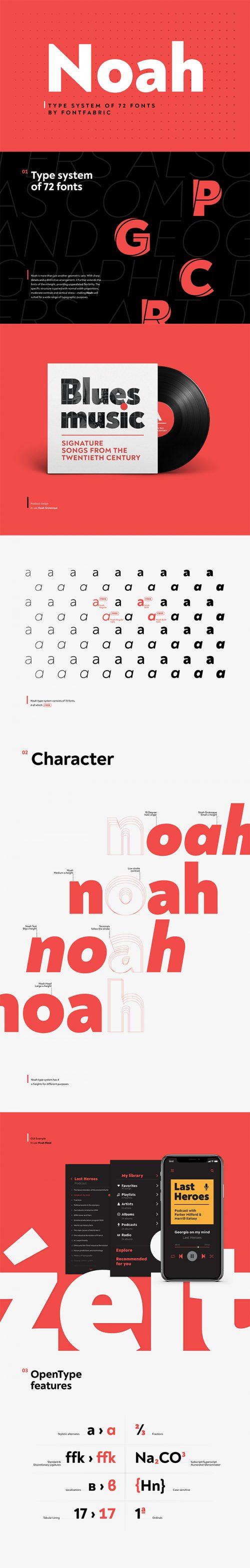 Asset | Noah Font Typeface