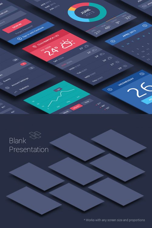 Asset | Perspective App Screens Mock-Up