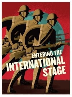 Entering the International Stage – Soldiers Propaganda Posters
