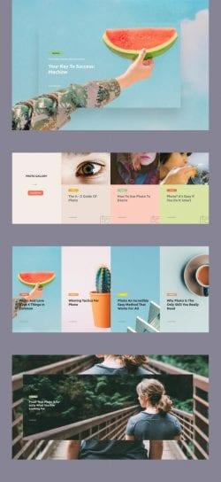 Simple Web Design Layout