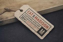 Asset   Vintage Label Tag MockUp