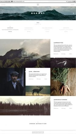 Noma Authentic | Website and App by Jonas Emmertsen