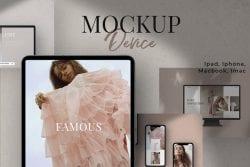 Device Mockup / Ipad/ Iphone/ Mac… ~ Scene Creator Mockups ~ Creative Market