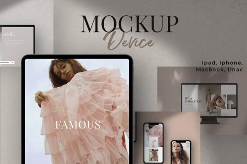 Device Mockup / Ipad/ Iphone/ Mac… ~ Scene Creator Mockups ~ Creative Market