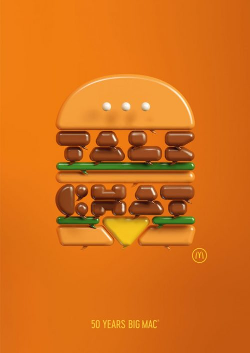Alex Trochut | 50 Years of Big Mac Illustrations and Graphic Design 005