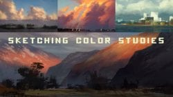 Photoshop Tutorial | Sketching Color Studies