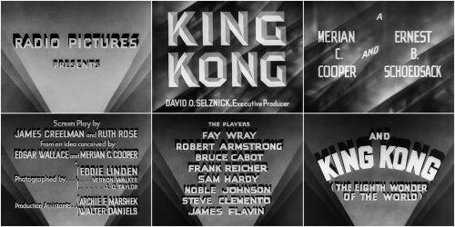King Kong Movie Title