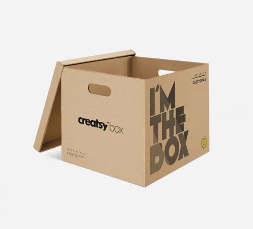 Asset | Moving Box PSD MockUp