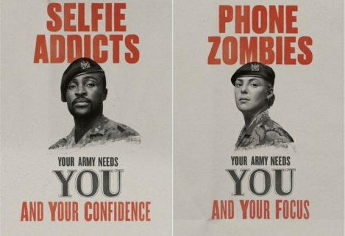 Join the Army Ad | Selfie Addicts and Phone Zombies