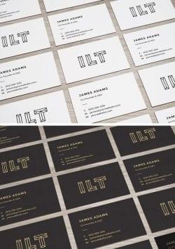 Asset   Perspective Business Cards MockUp