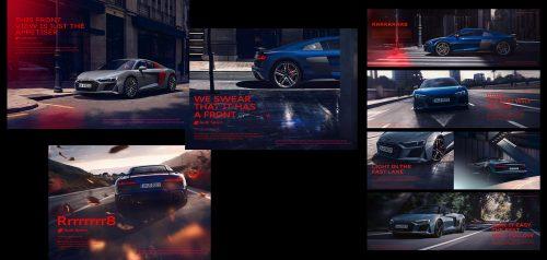 Agnieszka Doroszewicz Photography | Audi R8 V10 | Luxury Exotic Super Car Photoshoot 003