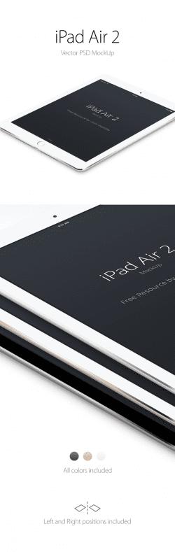 Asset | iPad Air 2 Perspective MockUp