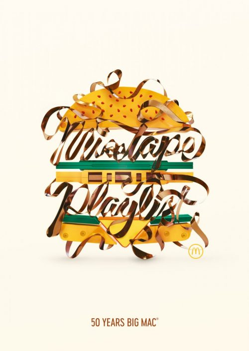 Alex Trochut | 50 Years of Big Mac Illustrations and Graphic Design 001