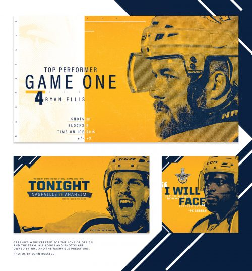 Branding | Predators 2017 Playoffs