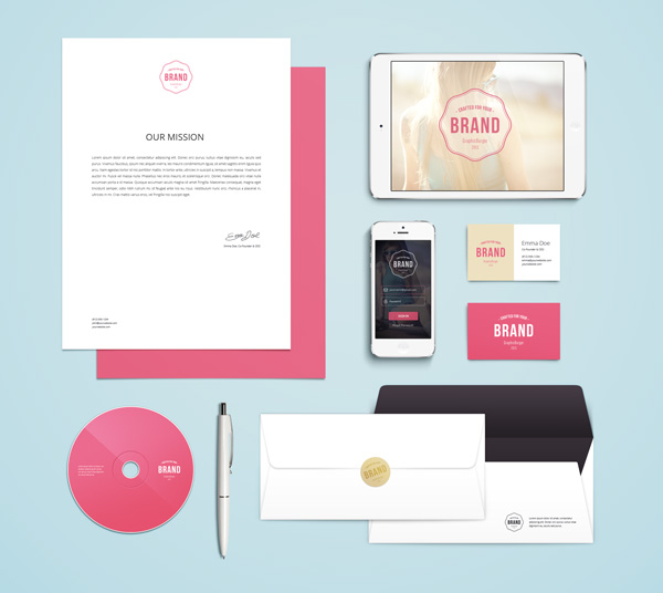 Asset | Branding / Identity MockUp Vol.4