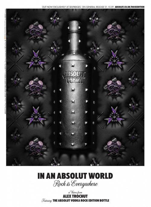 Alex Trochut | Absolut Vodka Poster Design 001