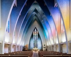 Sacred Spaces – The Grand Interiors of Modern Churches Across Europe and Japan by Thibaud  ...