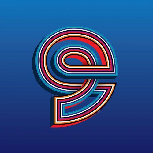 Matt W. Moore – Alphafont 2018 – Alphabet Font – Typography 028