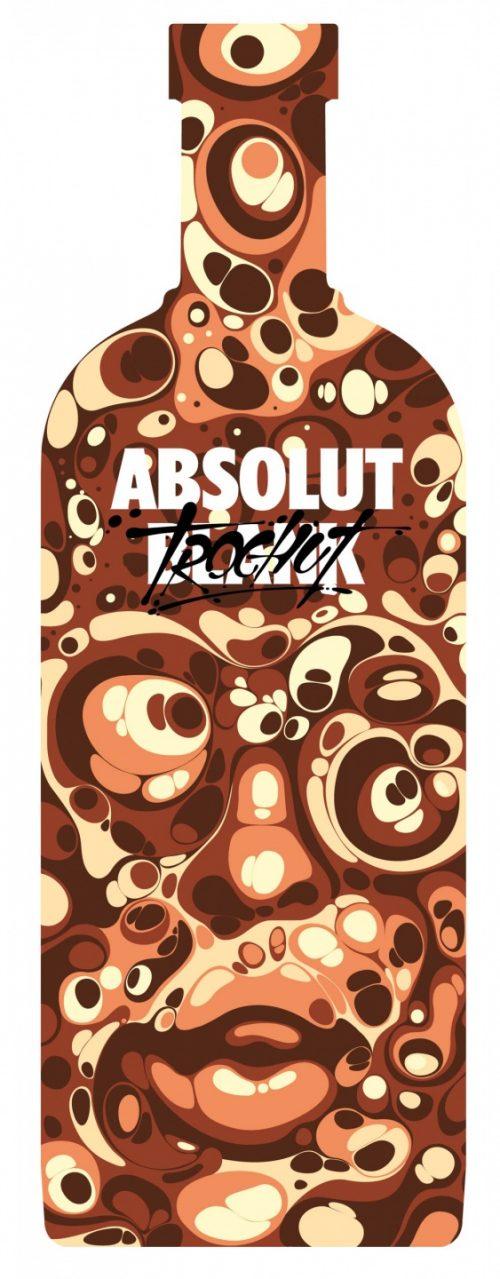 Alex Trochut | Absolut Vodka Poster Design 002