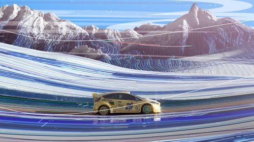 Onesal Studio   World Rally Championship 2018 – J Sport – 3D racecar promo 009
