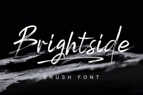 Asset | Brightside Font Typeface