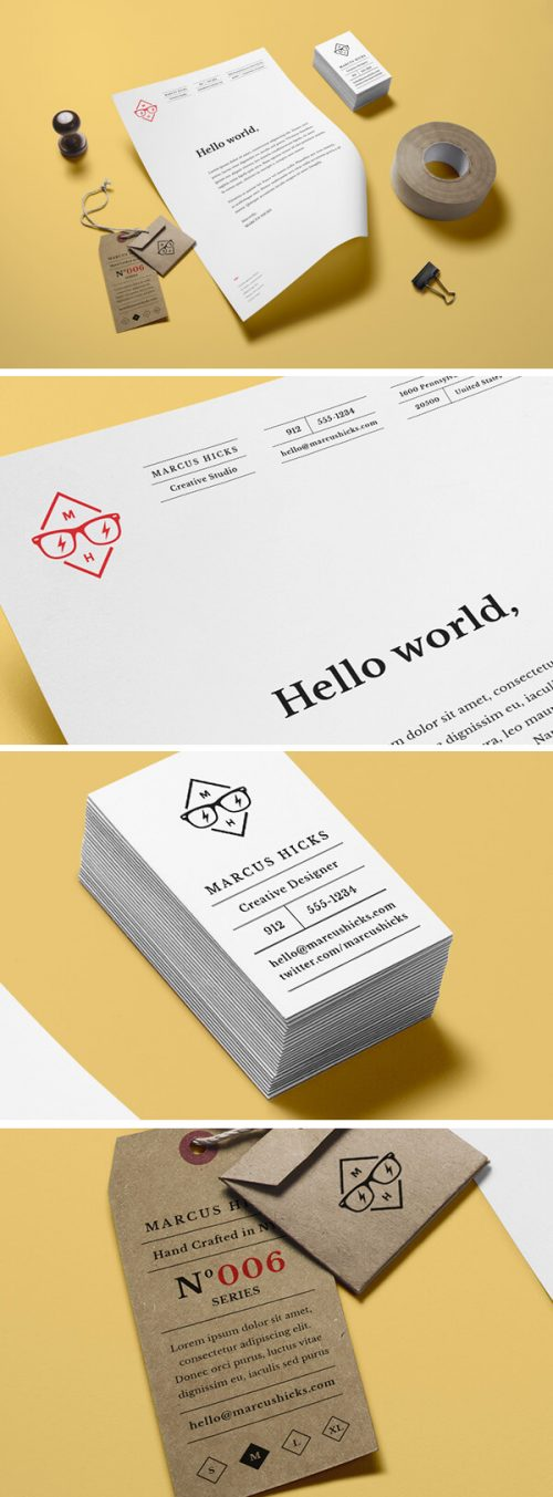 Asset | Branding / Identity MockUp Vol.14