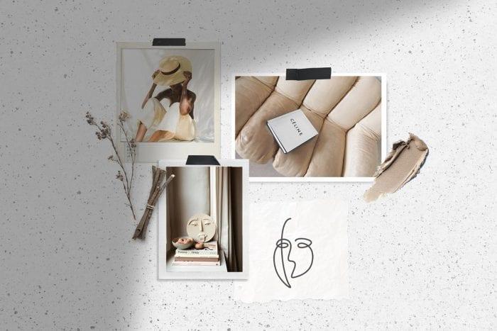 Natural Moodboard mockup ~ Branding Mockups ~ Creative