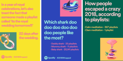 Spotify | 2018 Wrapped Ad Campaign