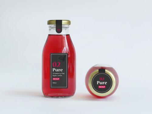 Asset | Juice Bottle Packaging MockUp