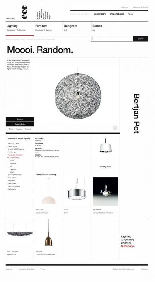 Bertian Pot Minimal Web Design