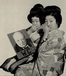Propaganda Poster – Japanese anti-British Photograph