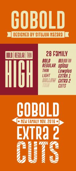 Asset | Gobold Font Family