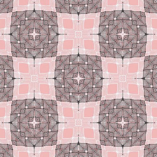 Intricate Kaleidoscope Surface Textile Pattern Design Art by @surfacedesign1928