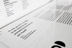 Graphic Works – Tomorrow Design Office – Minimal Poster Design 002