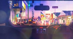 Vibrant Illustrations by Michał Sawtyruk – Photoshop – Wacom Tablet 002