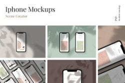 iPhone Mockups – scene creator