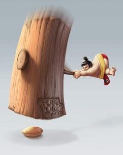 Yum Yum Peanut Butter Ad
