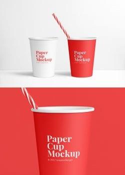 Asset | Paper Cup MockUp PSD