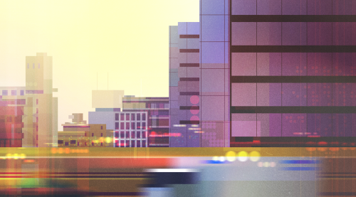 Vibrant Illustrations by Michał Sawtyruk – Photoshop – Wacom Tablet 008