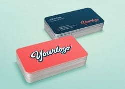 Asset   Stack Business Card MockUp