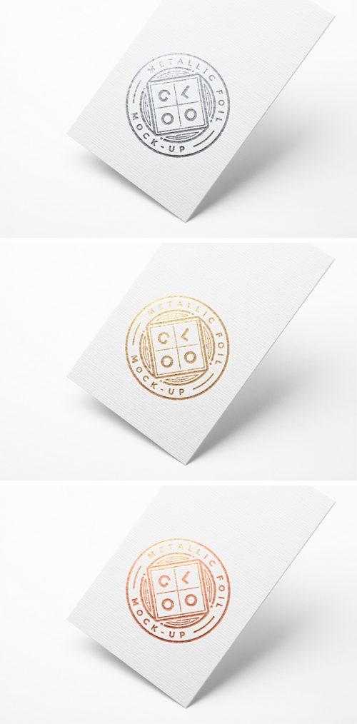 Asset | Metallic Foil Logo MockUp