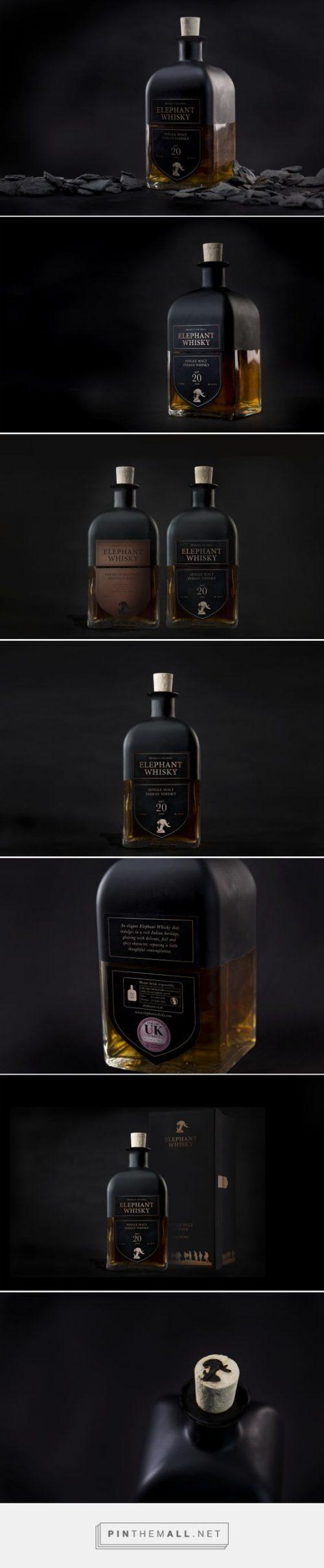 Elephant Whiskey   Package Design