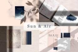 Mockup Kit – SUN & AIR scene creator ~ Scene Creator Mockups ~ Creative Market