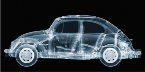 X-Ray Photography Art by Nick Veasey – VW beetle