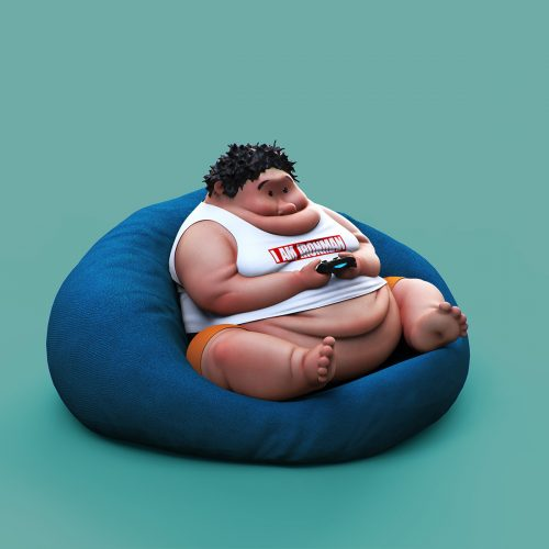 3D – Lazy Things and Animals- Guodong Zhao 002