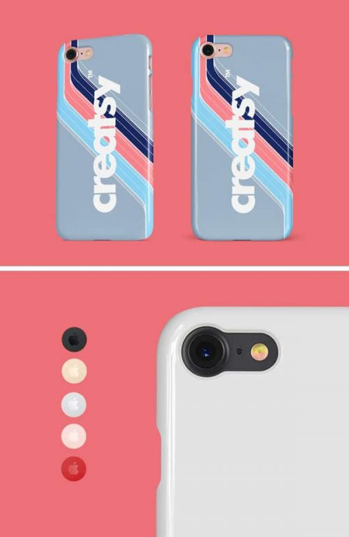 Asset | iPhone Glossy Snap Case MockUp