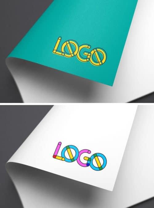 Asset | Full-Color Logo MockUp